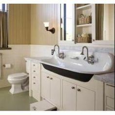 Toilet Trough : Where to Buy Trough Sink Trough Sink Bathroom Vanity More