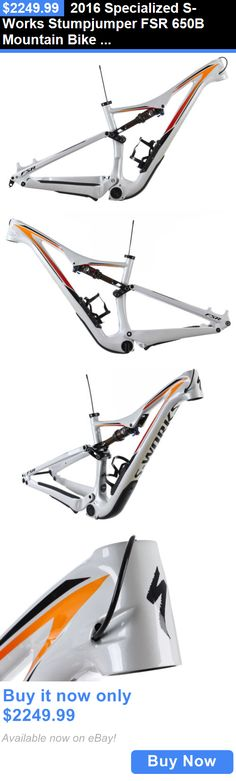 bicycle parts: 2016 Specialized S-Works Stumpjumper Fsr 650B Mountain Bike Frame Small 27.5 BUY IT NOW ONLY: $2249.99