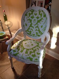 The is a refurbished chair that I love love love.