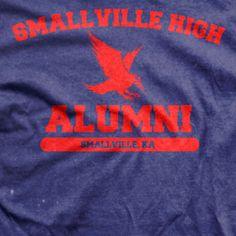 Smallville - Smallville Highschool Alumni TV Show T-shirt
