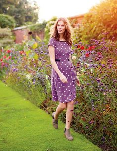 I've spotted this+@BodenClothing Easy Day Dress.  Want in all three colors.