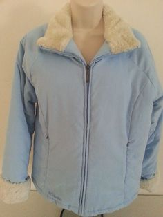 Columbia Sportswear Co. Women's Jacket M Blue Long S Polyester Puffer Lamb Solid #Columbia #Puffer #ebay #Columbia #Puffer