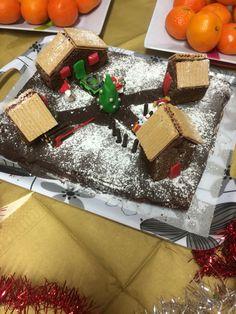 Gâteau en forme de maison