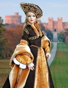 Tonner-handmade-OOAK-historical-outfit-for-dolls-with-Antoinette-Cami-body