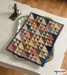 Martingale/That Patchwork Place Sampler Quilts, Scrappy Quilts, Mini Quilts, Baby Quilts, Small Quilt Projects, Quilting Projects, Quilting Designs, Longarm Quilting, Primitive Quilts