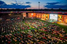 Berlin Stadium Turns Into The World's Biggest Living Room