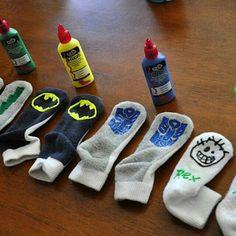 Diy no skid socks