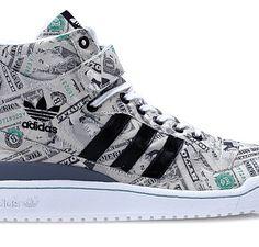 $7000 Adidas x Jeremy Scott Money Forum Hi Sneaker -- http://www.crispculture.com