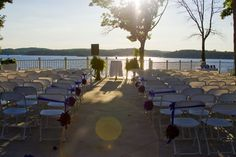 One of our favorite wedding venues - Lazy Gator Point at Lake of the Ozarks! Wedding Locations, Wedding Venues, Lake Ozark, Lakeside Wedding, Missouri, Big Day, Getting Married, Wedding Details, Lazy