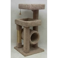 """BeatrisePetProducts 48"""" Deluxe Kitty Suite Cat Condo Diy Cat Tree, Cat Tree Condo, Cat Condo, Cat Trees, Cat Scratching Tree, Large Cat Tree, Cat Gym, Sisal Rope, Pet Furniture"""