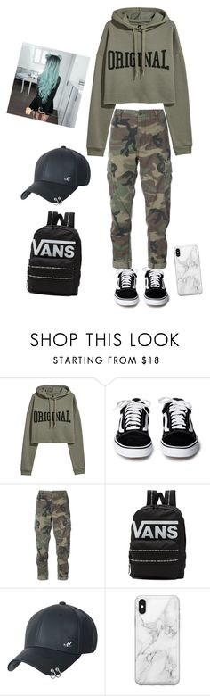 """""""***"""" by t0ri14 on Polyvore featuring RE/DONE, Vans and Recover"""