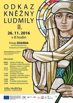 aktualni plakat 02 Svatá Ludmila 1100 let