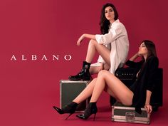Rock and Sensual! Discover Albano's boots and Décolleté for this winter!