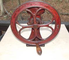 Very Rare Antique Cast Iron No. 1 Coffee Grinder Corn Grist Mill