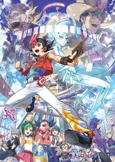 Yu-gi-oh Zexal. I was actually really sad when I finished this series.