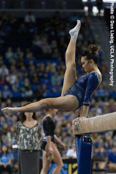 Canadian Gymnast Christine Peng Peng Lee - UCLA