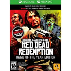 Red Dead Redemption: Game of the Year Edition - Xbox 360 Xbox One, 49007