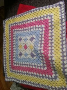 Kuschelpolster Blanket, Crochet, Cuddling, Crochet Crop Top, Chrochet, Rug, Blankets, Cover, Crocheting