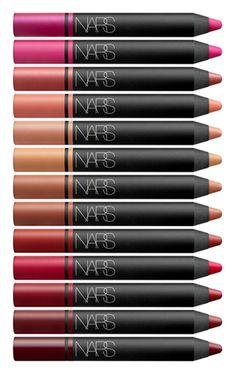 NARS Satin Lip Pencil Collection