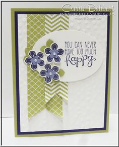 Petite Petals, Yippee Skippee, Stampin Up, flowers, violets, Connie Babbert, www.inkspiredtreasures.com