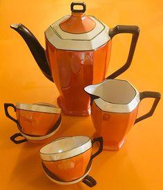 Ice Molds, Pot Sets, My Tea, Bone China, Cup And Saucer, Tea Time, Orange Color, Fairies, Tea Pots