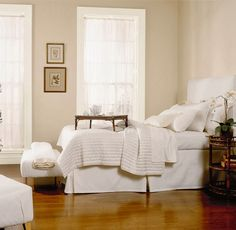 15 fabulous white paints - Style At Home Best White Paint, White Paint Colors, Paint Colors For Home, White Paints, House Colors, Neutral Bedrooms, Bedroom Colors, Bedroom Decor, Bedroom Furniture