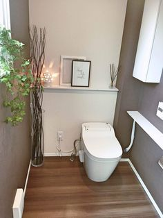 Bathroom Niche: Learn How To Choose And See Ideas With Photos - Home Fashion Trend Bathroom Niche, Bathroom Toilets, Bathroom Colors, Modern Bathroom, Small Bathroom, Neutral Bathroom, Washroom, Bathroom Ideas, Toilet Room