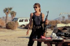 Sarah Connor from Terminator 2: Judgment Day