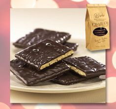 Smother your buds. Dark chocolate covered graham crackers.