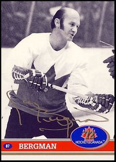 GARY BERGMAN 1972 Team Canada SIGNED Hockey Card by AJ Sports World. $159.00. This Hand-Signed Card has been beautifully and personally autographed by Gary Bergman. To protect your investment, a Certificate Of Authenticity and tamper evident hologram from A.J. Sports World is included with your purchase for an unconditional lifetime guarantee of authenticity.