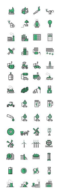 Energy icons | Carlo Giovani