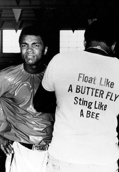 Muhammad Ali - Float like a butterfly and sting like a bee