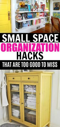 11 organization hacks for small spaces you won't want to miss. 11 organization hacks for small spaces you won't want to miss. 11 organization hacks for small spaces you won't want to miss. 11 organization hacks for small spaces you won't want to miss. Organisation Hacks, Organizing Hacks, Storage Hacks, Organizing Your Home, Diy Organization, Food Storage, Diy Storage Solutions, Storage Room, Kitchen Storage