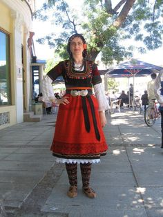 My Heritage, Bulgarian, Folklore, Lace Skirt, Wreaths, Dance, Costumes, Embroidery, Woman