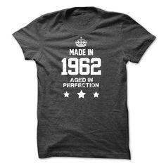 Made in 1962 - #girls hoodies #army t shirts. CHEAP PRICE => https://www.sunfrog.com/Birth-Years/Made-in-1962-13430344-Guys.html?id=60505