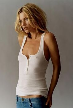 Kate Moss - I admire her confidence.