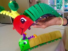 How to Make a Caterpillar that Moves