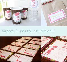 sweet way to celebrate 2
