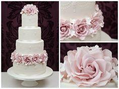 Torte nuziali rosa, le proposte più belle (Foto 14/40) | Matrimonio