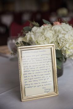 Personal Wedding Reception Note To Guests The Knot Must Haves