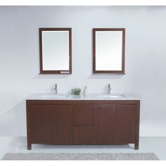 72 Galant Contemporary Double Sink Bathroom Vanity Http Www Listvanities