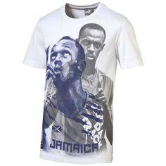 Puma x Usain Bolt printed t-shirt