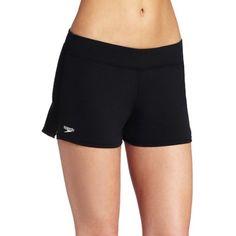 88beffa599 Speedo Women's Endurance Solid Swim Short Coverup >>> Click image  to