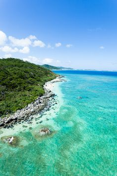 Kume Island, Okinawa, Japan - We used to vacation here when dad was still deployed. I still remember the sound of jet skis and the beautiful color of the ocean.