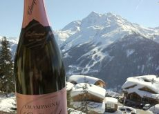 Lifeandbubbles.com : Pink Champagne bubbles from Gallimard at La Rosière 1850 (FR)