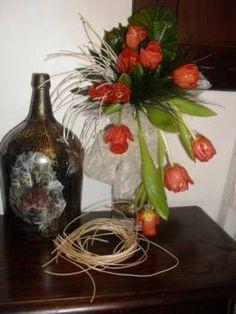 Garrafão Reciclado, aproveitamento de material em vidro