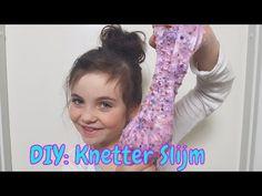 DIY - Zelf Crunchy Knetter Slijm maken (Nederlands) - YouTube