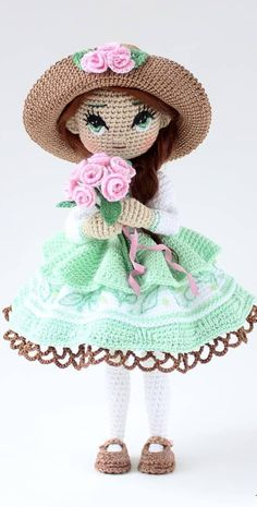 Cool and Amazing Amigurumi Crochet Pattern Ideas for This Season Part amigurumi patterns free; Diy Crochet Toys, Crochet Doll Clothes, Easter Crochet, Crochet Crafts, Crochet Dolls, Christmas Crochet Patterns, Crochet Toys Patterns, Amigurumi Patterns, Doll Patterns
