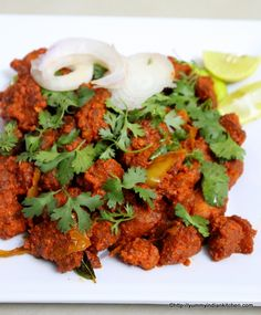 Chicken 65 Recipe Hyderabadi Gravy and Dry Restaurant Style - Yummy Indian Kitchen Recipes With Chicken And Peppers, Indian Chicken Recipes, Chicken Recipes Video, Baked Chicken Recipes, Indian Food Recipes, Edamame, Crock Pot Cooking, Cooking Recipes, Kitchen Recipes