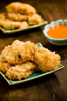 """Southern Fried Oysters MMMMM """"These look more delicious than the last fried ones i tried"""" yummy yummy I love Oysterz!!"""